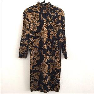Vintage Oscar De La Renta Studio silk dress